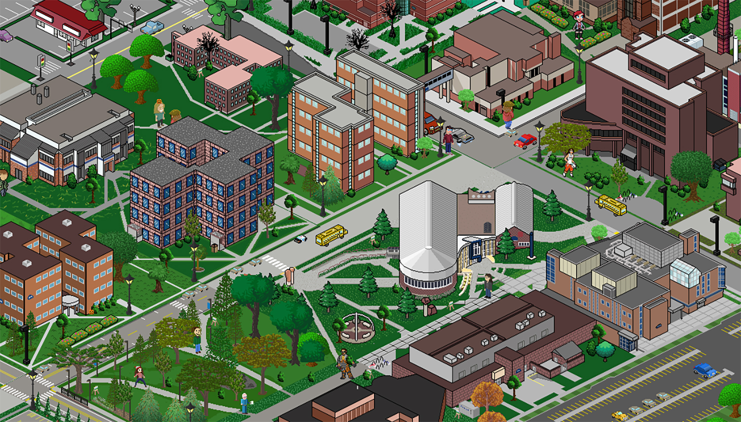 Uw Stout Campus Map Game style campus map to be unveiled Dec. 12 at Stout Game Expo