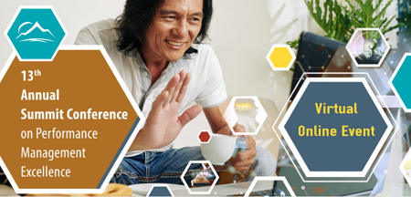 image of a person drinking coffee in front of a laptop