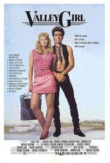 """Valley Girl"" movie poster"