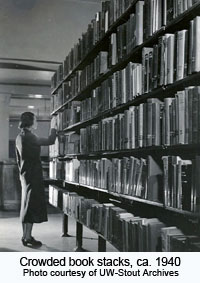 Crowded Book Stacks