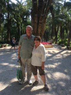 LaVenture, with her husband Ed, wants to have more time to volunteer and travel.