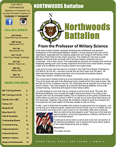 Northwoods Battalion Newsletter