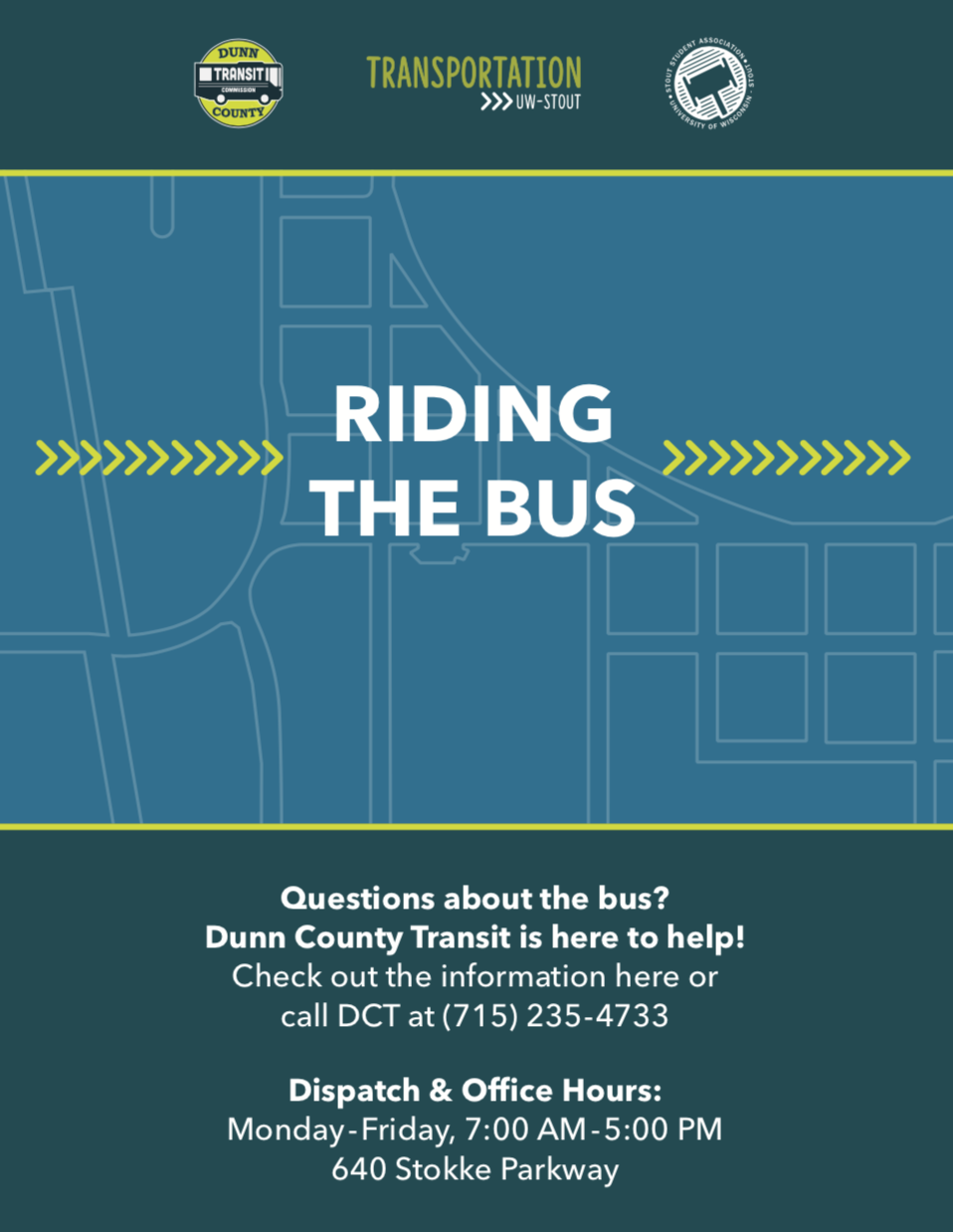 Riding the Bus Brochure