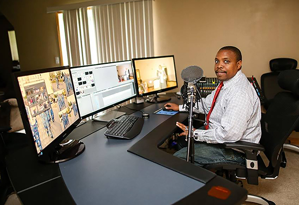 "Benard Omweri owns East African Television, which will broadcast the ""Exploring America"" series."