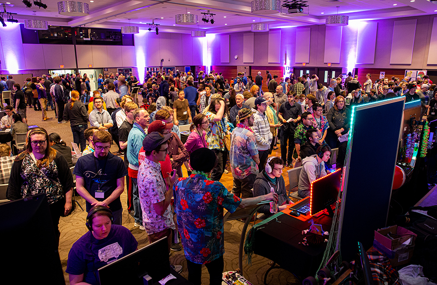 UW-Stout's new esports team builds on a campus culture that includes a video game undergraduate program and the Stout Game Expo, a biannual event that features games created by students.