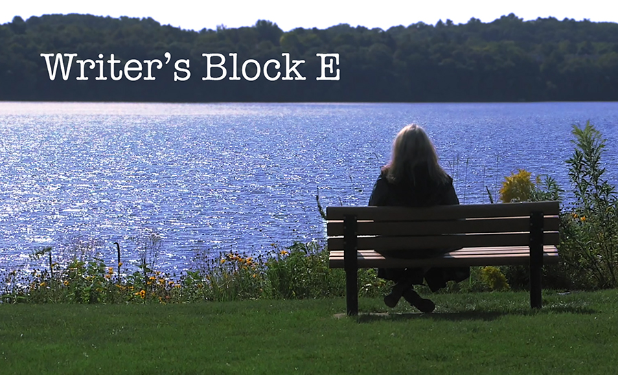 """Writer's Block E"" by UW-Stout staff member Andrew McIntosh"