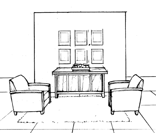 """Interior Design Visual Presentation"" includes more than 300 illustrations."