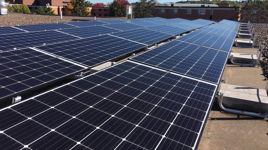 Price Commons Solar Panels