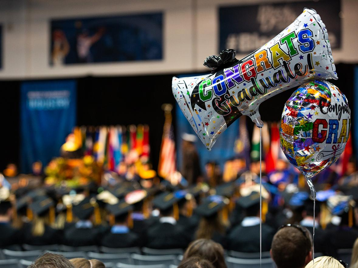UW-Stout's spring commencement is planned Saturday, May 9, and will be held virtually.