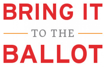 Bring it to the ballot logo