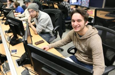 Game Design and Development students at UW-Stout.
