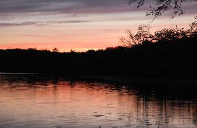 Red Cedar Watershed Sunset