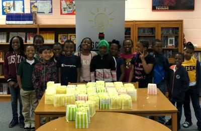 Students in Craig Clifton, Inc.'s after-school program.