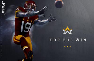 Damrow has held a variety of professional design jobs and recently created a logo for the Washington NFL team that has gained national attention.