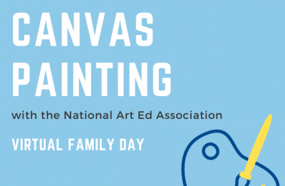Canvas Painting with the National Art Ed Association